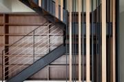 Фото 5 Лестницы на второй этаж на металлическом каркасе (59 фото): виды и правила выбора