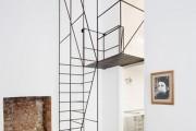 Фото 15 Лестницы на второй этаж на металлическом каркасе (59 фото): виды и правила выбора