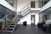 Фото 16 Лестницы на второй этаж на металлическом каркасе (59 фото): виды и правила выбора