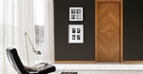 Межкомнатные двери из шпона (59 фото): что это такое и как выбрать правильно? фото