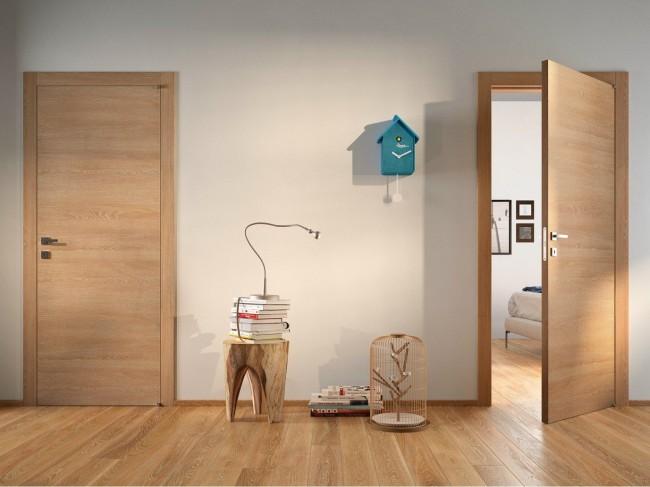 Шпонированные двери и экостиль