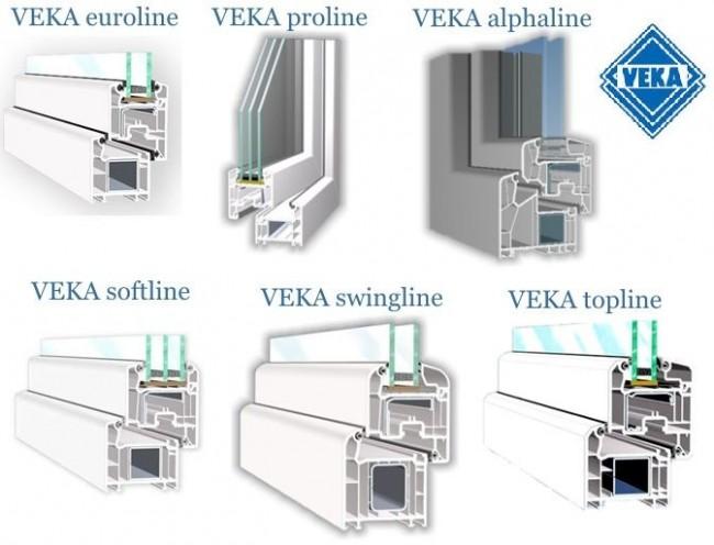 Модели VEKA
