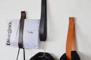 Фото 6 Настенная вешалка для одежды в прихожую: материалы, конструкции,  дизайн