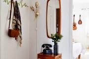 Фото 11 Настенная вешалка для одежды в прихожую: материалы, конструкции,  дизайн