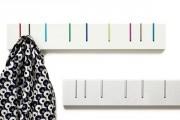 Фото 17 Настенная вешалка для одежды в прихожую: материалы, конструкции,  дизайн