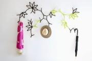 Фото 7 Настенная вешалка для одежды в прихожую: материалы, конструкции,  дизайн