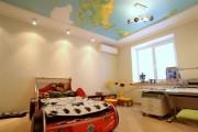 Фото 6 Натяжные потолки в детской комнате (63 фото): виды и особенности выбора