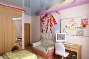 Фото 3 Натяжные потолки в детской комнате (63 фото): виды и особенности выбора
