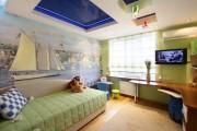 Фото 8 Натяжные потолки в детской комнате (63 фото): виды и особенности выбора