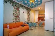Фото 12 Натяжные потолки в детской комнате (63 фото): виды и особенности выбора