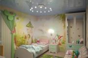 Фото 5 Натяжные потолки в детской комнате (63 фото): виды и особенности выбора