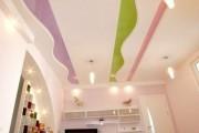 Фото 20 Натяжные потолки в детской комнате (63 фото): виды и особенности выбора
