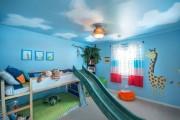 Фото 21 Натяжные потолки в детской комнате (63 фото): виды и особенности выбора