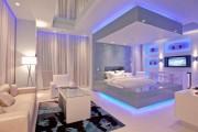 Фото 22 Потолки из гипсокартона для спальни (80 фото): мир комфорта и стиля