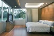 Фото 4 Потолки из гипсокартона для спальни (80 фото): мир комфорта и стиля