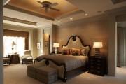 Фото 45 Потолки из гипсокартона для спальни (80 фото): мир комфорта и стиля