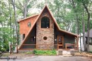 Фото 16 Каркасные дома (69 фото): проекты, фото и цены