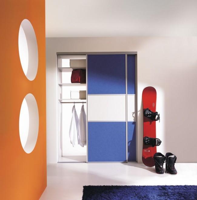 Встроенная мебель не крадет лишние сантиметры пространства