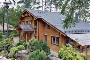 Фото 1 Деревянные дома из профилированного бруса:  проекты, преимущества и особенности строительства