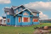 Фото 3 Деревянные дома из профилированного бруса:  проекты, преимущества и особенности строительства