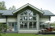 Фото 11 Деревянные дома из профилированного бруса:  проекты, преимущества и особенности строительства