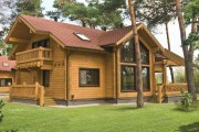 Фото 14 Деревянные дома из профилированного бруса:  проекты, преимущества и особенности строительства
