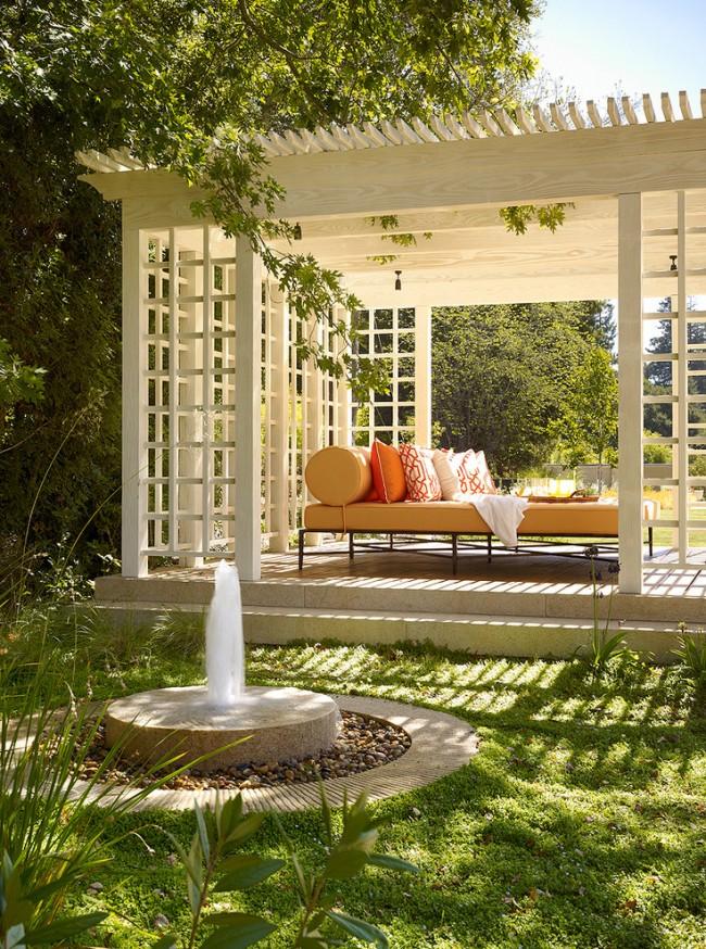 Уголок дзен в саду