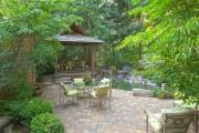 Фото 20 Красивые и простые садовые беседки: 70 фото