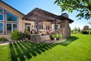 Фото 10 Красивые и простые садовые беседки: избранные идеи дизайна и проверенные варианты