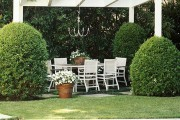 Фото 29 Красивые и простые садовые беседки: 70 фото