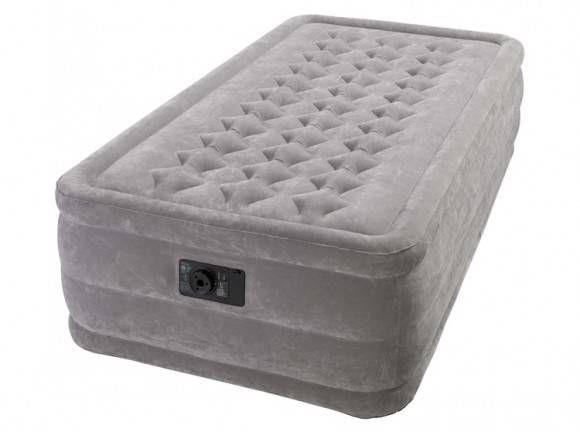 Надувной матрас для сна с насосом- цена, фото, рейтинг. naduvnoj_matras_dlya_sna_s_nasosom_02_Intex_Ultra_Plush_Bed_67952