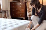 Фото 2 Надувной матрас для сна с насосом (цена, фото, рейтинг): плюсы и минусы, как выбрать