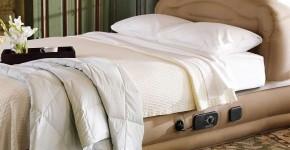 Надувной матрас для сна с насосом (цена, фото, рейтинг): плюсы и минусы, как выбрать фото