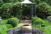 Фото 6 Красивые и простые садовые беседки: 70 фото