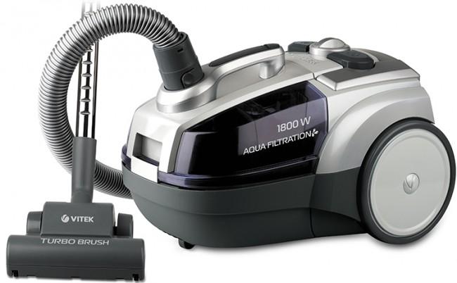 Пылесос с аквафильтром: какой фирмы лучше, цены, отзывы. VITEK 1833 PR