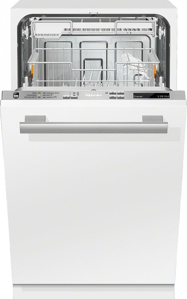 Рейтинг встроенных посудомоечных машин 45 см. Miele G 4860 SCVi