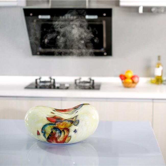 Увлажнитель воздуха для детей. Ультразвуковой увлажнитель в декоративном расписном тяжелом керамическом корпусе