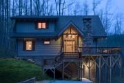 Фото 1 Виниловый сайдинг под бревно (36 фото и цены): эффектный внешний вид загородного дома