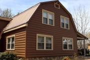 Фото 16 Виниловый сайдинг под бревно (36 фото и цены): эффектный внешний вид загородного дома