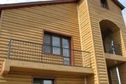 Фото 17 Виниловый сайдинг под бревно (36 фото и цены): эффектный внешний вид загородного дома