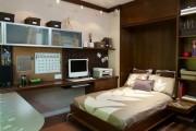 Фото 9 Как преобразить малогабаритную квартиру при помощи откидной кровати?