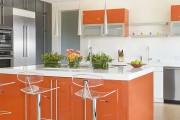 Фото 5 Оранжевые кухни: особенности цветовых комбинаций для энергичных интерьеров