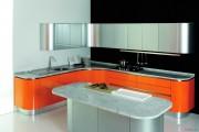 Фото 6 Оранжевые кухни: особенности цветовых комбинаций для энергичных интерьеров