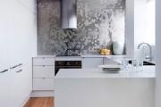 Фото 3 Дизайн кухни белого цвета: 40+ фото свежих и лаконичных дизайнерских проектов