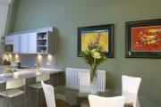 Фото 13 Дизайн кухни зеленого цвета (80+ трендовых интерьеров): модные сочетания оттенков от фисташкового и оливкового до изумруда и хаки