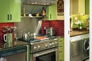 Фото 14 Дизайн кухни зеленого цвета (80+ трендовых интерьеров): модные сочетания оттенков от фисташкового и оливкового до изумруда и хаки