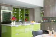 Фото 15 Дизайн кухни зеленого цвета (80+ трендовых интерьеров): модные сочетания оттенков от фисташкового и оливкового до изумруда и хаки