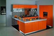 Фото 7 Оранжевые кухни: особенности цветовых комбинаций для энергичных интерьеров