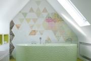 Фото 9 Обои для ванной комнаты (44 фото): опровергая стереотипы