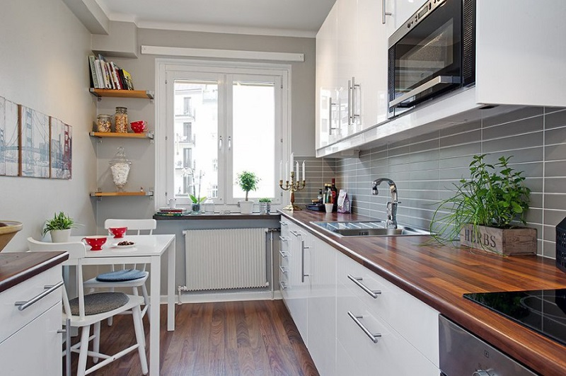 Дизайн маленькой кухни 6 кв фото 2016-2017